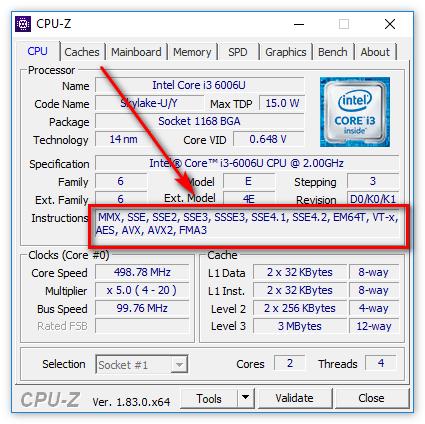 Инструкции процессора в ЦПУ-З